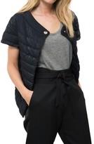 Herno Cap Sleeve Shimmer Jacket