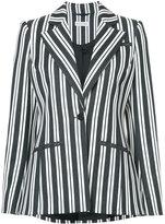 Altuzarra belted striped blazer - women - Cotton/Spandex/Elastane/Wool - 36