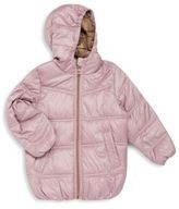 One Kid Little Girl's Quilted Jacket