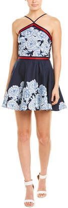 Bailey Blue Halter A-Line Dress
