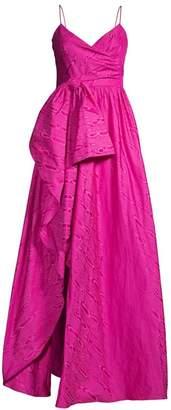 Flor Et. Al Tissot Moire Gown