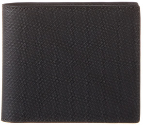Burberry Check Leather International Bifold Wallet