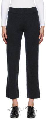Le Kasha Grey Cashmere Ottawa Lounge Pants