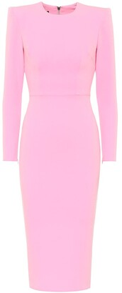 Alex Perry Darley stretch-crepe dress