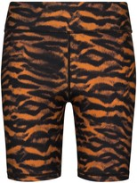 The Upside Tiger-Print Cycling Shorts
