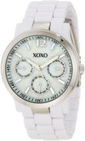 XOXO Women's XO5517 Bracelet with Silver Case Watch