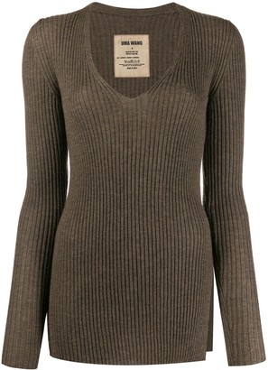 UMA WANG Slim-Fit Cashmere Jumper