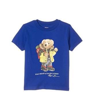 Polo Ralph Lauren Parka Bear Cotton Jersey Tee (Toddler)