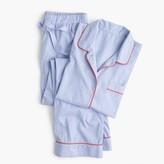 J.Crew Tipped vintage pajama set