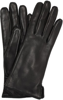 Leather Gloves W/ Fur Lining