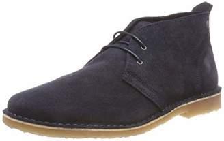 Jack and Jones Men's Jfwgobi Suede Boot Desert, Blue Navy Blazer