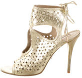Aquazzura Laser Cut Sexy Thing Sandals