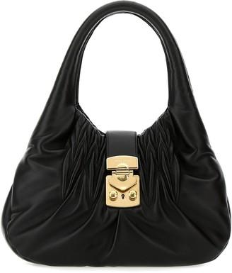 Miu Miu Matelasse Shoulder Bag