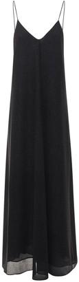 Oseree Lumiere Lurex Long Slip Dress
