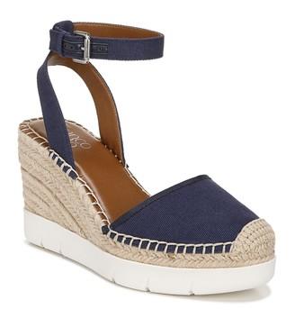 Franco Sarto Mango Ankle Strap Espadrille Wedge Sandal
