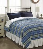 L.L. Bean Ultrasoft Cotton Comforter, Plaid