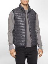 Calvin Klein Mens Packable Down Vest Jacket