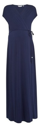 Dorothy Perkins Womens Maternity Navy Maxi Dress