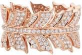 Stephen Webster Rose Gold Magnipheasant Pavé Diamond Ring, One Size
