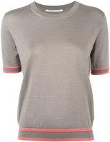 Agnona shortsleeved jumper - women - Silk/Cashmere - 42