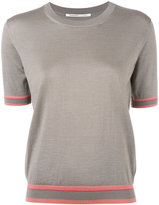 Agnona shortsleeved jumper - women - Silk/Cashmere - 44