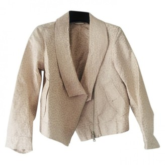 Dries Van Noten \N Beige Silk Jackets