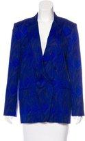 Jenni Kayne Silk Printed Blazer