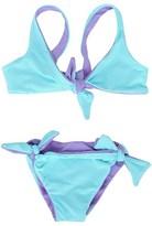 Melissa Odabash Lavender Reversible Knot Bikini