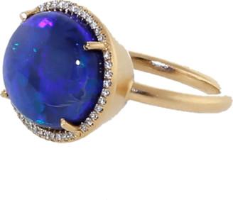 Irene Neuwirth Jewelry Opal Diamond Pave Ring