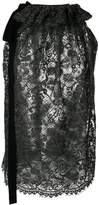 Uma Wang oversized lace tank