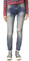 R 13 Alison Crop Skinny Jeans