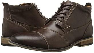 Steve Madden Jabbar (Dark Brown) Men's Lace up casual Shoes