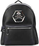 Philipp Plein - Vehuel backpack - men - Calf Leather/Metal (Other) - One Size