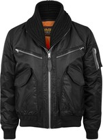 Schott Nyc Cws-46 Black Shell And Leather Jacket