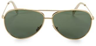 Celine CL40062U Metal 61MM Aviator Sunglasses