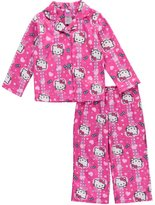"Hello Kitty Little Girls' ""Jewel Roses"" 2-Piece Pajamas"
