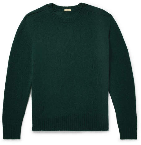 Undercover Shepherd Wool Sweater - Green
