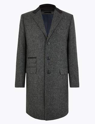 M&S Collection LuxuryMarks and Spencer Pure Wool Overcoat