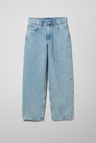 Thumbnail for your product : Weekday Rail Mid Loose Straight Jeans - Blue