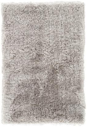 "Jaipur Living Marlowe Handmade Solid Silver Area Rug, 5'x7'6"""