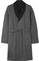 Hanro - Davide Double-faced Brushed-cotton Robe
