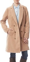 Skies Are Blue Camel Wool Blend Trench