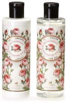 Panier des Sens Panier Des Sens Set Of 2 8.4Oz Rejuvenating Rose Shower Gel & Body Lotion