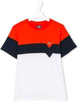 Lacoste Kids teen color block T-shirt