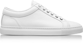 Etq Amsterdam Low 1 White Nappa Leather Men's Sneaker