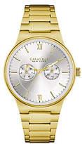 Caravelle New York Men's Goldtone Watch w/ Mult