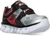 Skechers Little Boys' Lights: Hypno-Flash Velcro Casual Sneakers from Finish Line