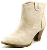 Style&Co. Style & Co Donia Women Round Toe Synthetic Ivory Ankle Boot.