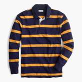 J.Crew Tall rugby shirt in thin stripe