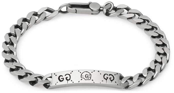 Gucci GucciGhost chain bracelet in silver